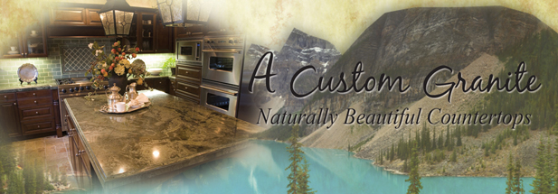 A Custom Granite Website Header