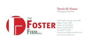 The Foster Firm Business Card