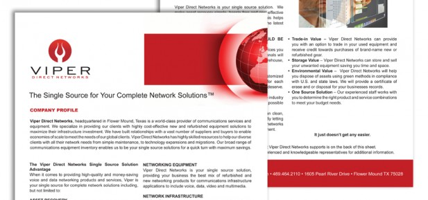 Viper Direct Network Solutions