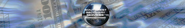 Southwest Recovery Services Website Header